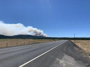 S-503 fire, Oregon